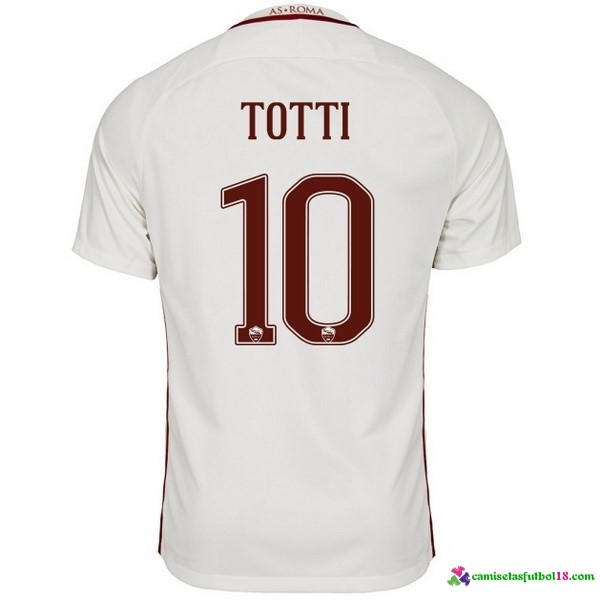 Totti Camiseta 2ª Kit As Roma 2016 2017