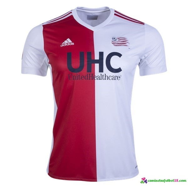 Camiseta 1ª Kit New England Revolution 2017 2018