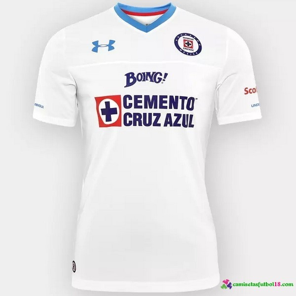 Camiseta 2ª Kit Cruz Azul 2016 2017
