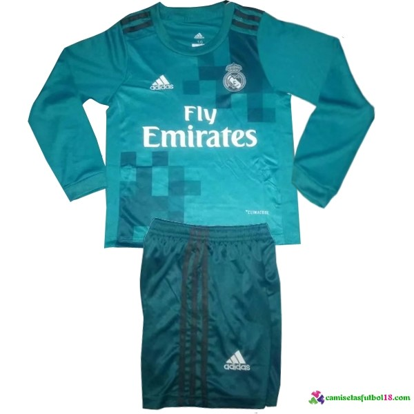 Camiseta 3ª Kit Conjunto ML Ninos Real Madrid 2017 2018