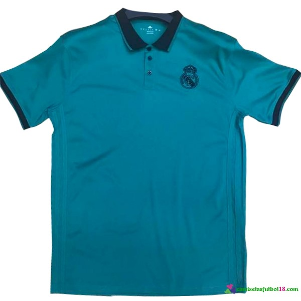 Polo Del Real Madrid 2017 2018 Negro Azul