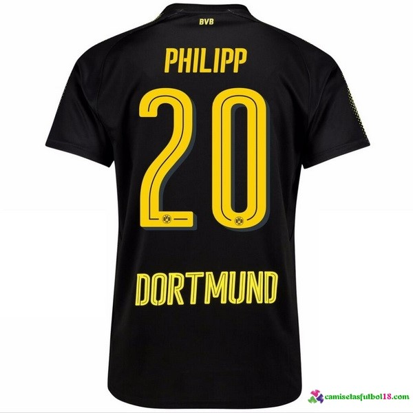 Phillipp Camiseta 2ª Kit Borussia Dortmund 2017 2018