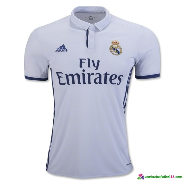 Tailandia Camiseta 1ª Kit Real Madrid 2016 2017