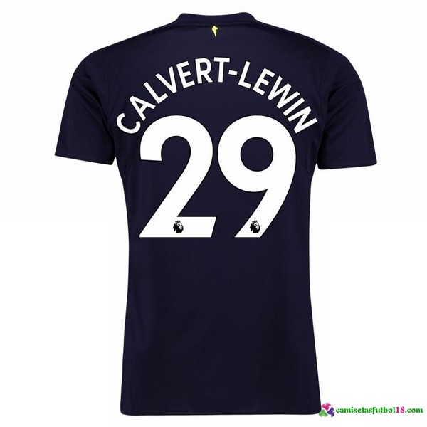 Calvert Lewin Camiseta 3ª Kit Everton 2017 2018
