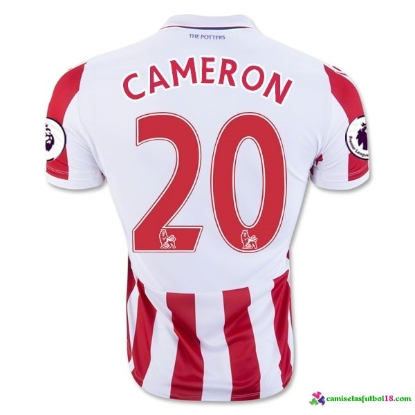 Cameron Camiseta 1ª Kit Stoke City 2016 2017