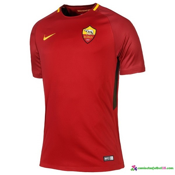 Camiseta 1ª Kit As Roma 2017 2018