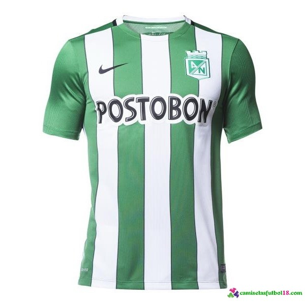 Camiseta 1ª Kit Atletico Nacional 2016 2017