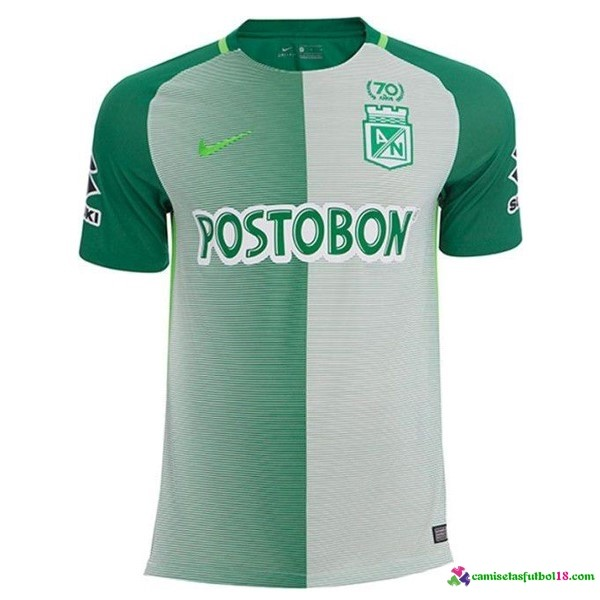 Camiseta 1ª Kit Atletico Nacional 2017 2018