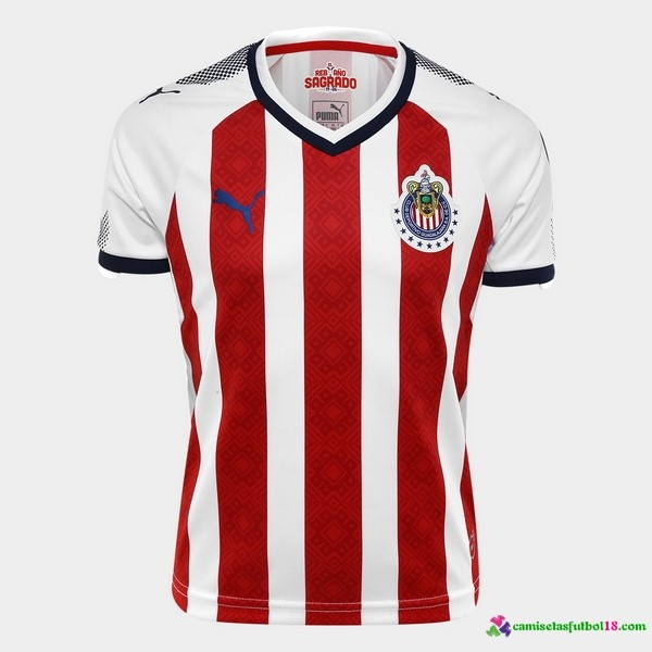 Camiseta 1ª Kit CD Guadalajara 2017 2018