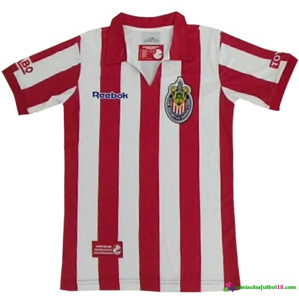 Camiseta 1ª Kit CD Guadalajara Retro 7 8