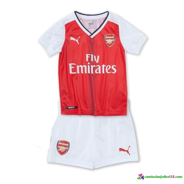 Camiseta 1ª Kit Conjunto Arsenal Niño 2016 2017