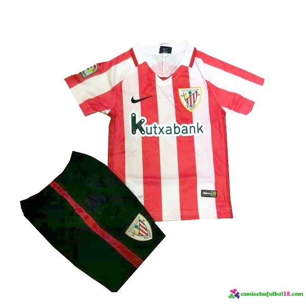 Camiseta 1ª Kit Conjunto Athletic Bilbao Niño 2016 2017