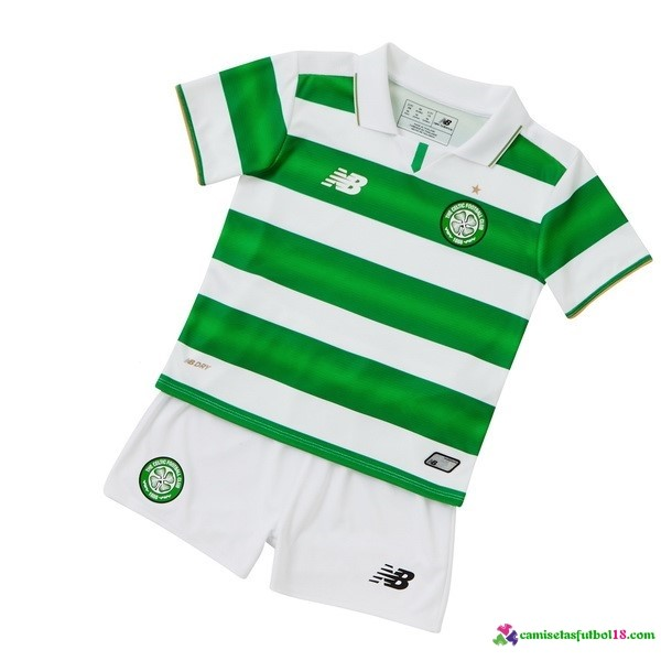 Camiseta 1ª Kit Conjunto Celtic Niño 2016 2017