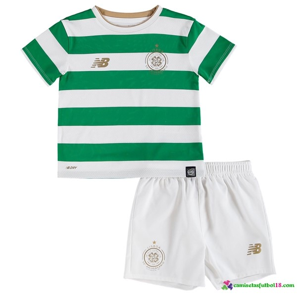 Camiseta 1ª Kit Conjunto Celtic Niño 2017 2018