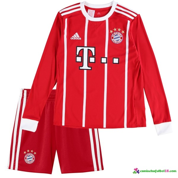 Camiseta 1ª Kit Conjunto ML Ninoss Bayern Munich 2017 2018