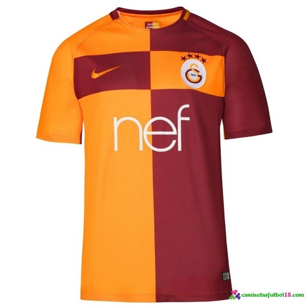 Camiseta 1ª Kit Galatasaray SK 2017 2018
