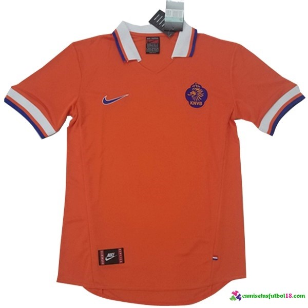 Camiseta 1ª Kit Holanda 2017