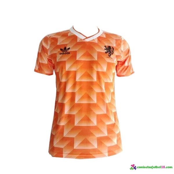 Camiseta 1ª Kit Holanda Retro 1988