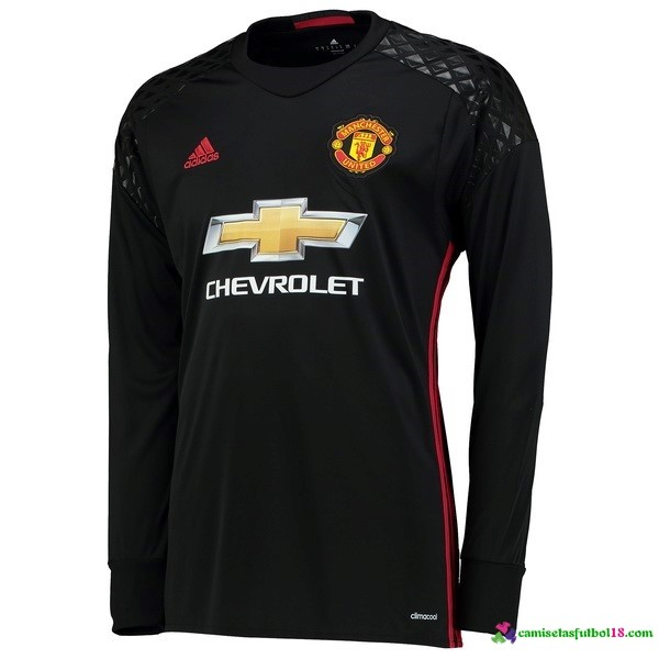 Camiseta 1ª Kit ML Manchester United Portero 2016 2017
