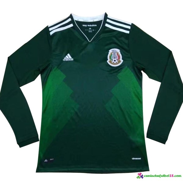 Camiseta 1ª Kit ML Mexico 2017