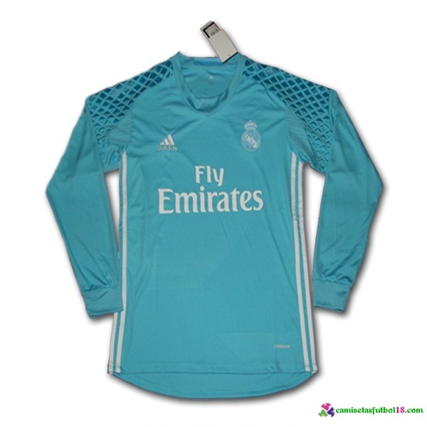 Camiseta 1ª Kit ML Real Madrid Portero 2016 2017