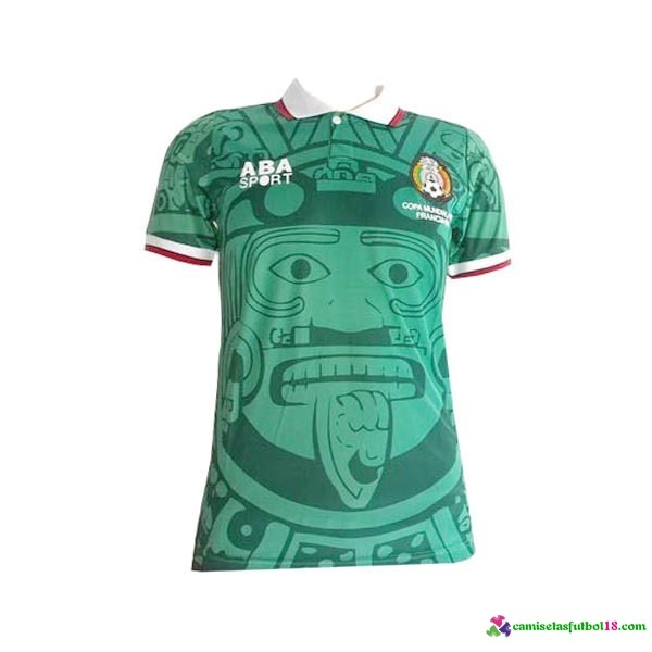 Camiseta 1ª Kit Mexico Retro 1998