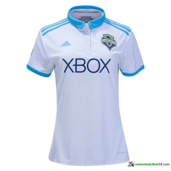 Camiseta 1ª Kit Mujer Seattle Sounders 2017 2018