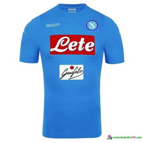 Camiseta 1ª Kit Napoli 2016 2017