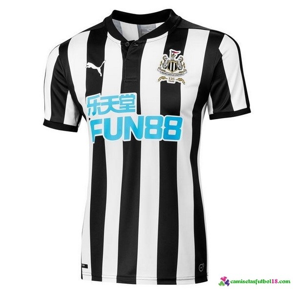 Camiseta 1ª Kit Newcastle United 2017 2018