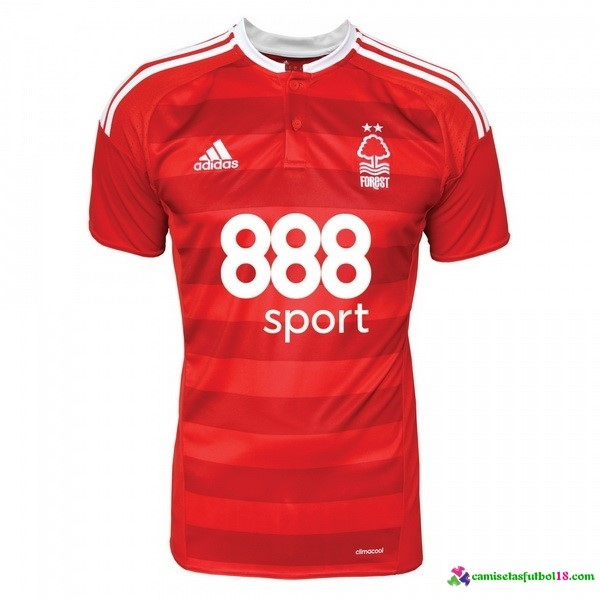Camiseta 1ª Kit Nottingham Forest 2016 2017