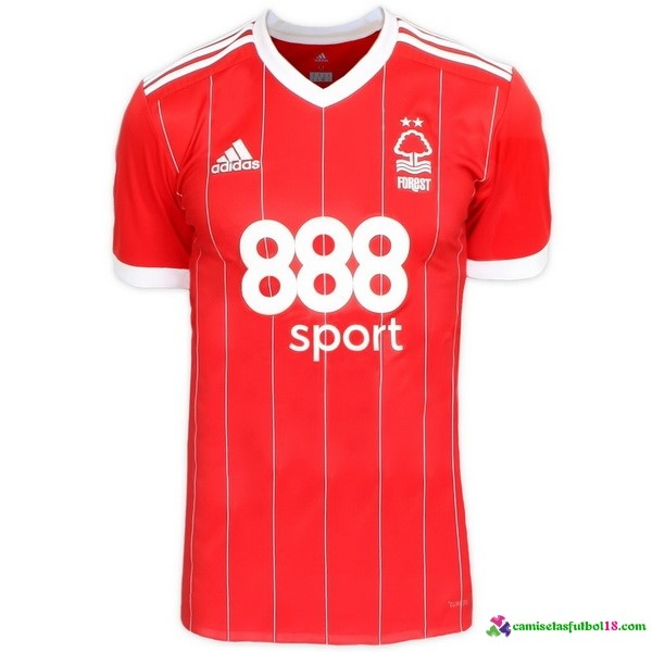 Camiseta 1ª Kit Nottingham Forest 2017 2018