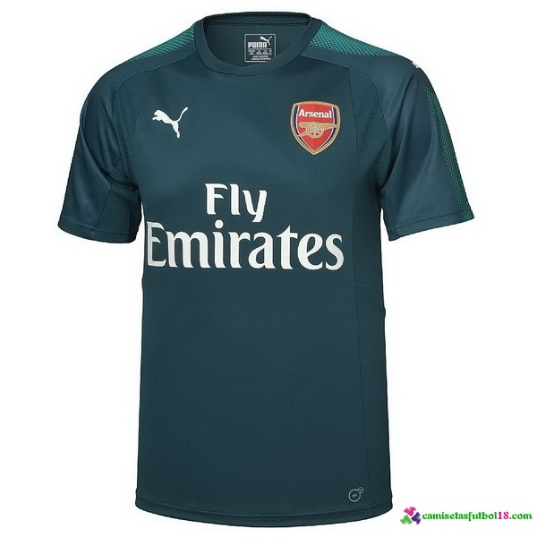 Camiseta 1ª Kit Portero Arsenal 2017 2018