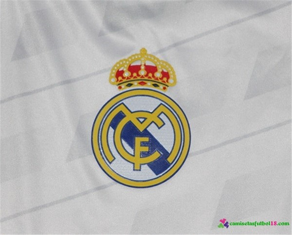 Camiseta 1ª Kit Real Madrid 2017 2018