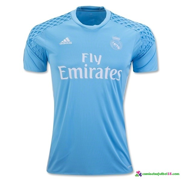 Camiseta 1ª Kit Real Madrid Portero 2016 2017