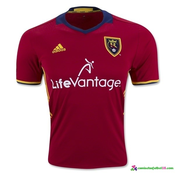Camiseta 1ª Kit Real Salt Lake 2016 2017