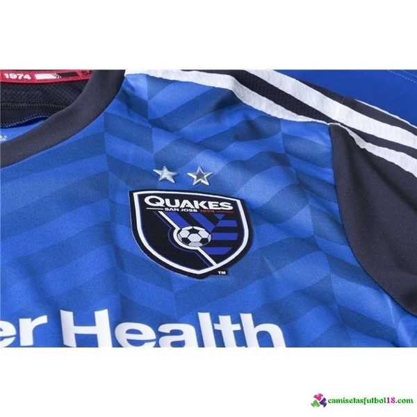 Camiseta 1ª Kit San Jose Quakes 2016 2017