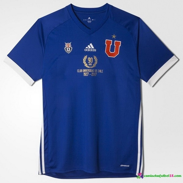 Camiseta 1ª Kit Universidad De Chile 2017