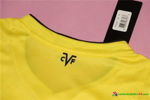 Camiseta 1ª Kit Villarreal 2016 2017