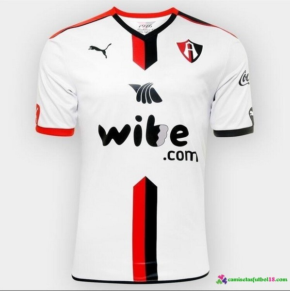 Camiseta 2ª Kit Atlas Guadalajara 2016 2017