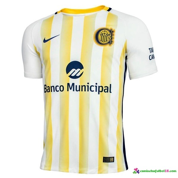 Camiseta 2ª Kit Atletico Rosario Central 2017 2018