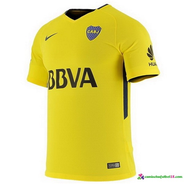 Camiseta 2ª Kit Boca Juniors 2017 2018