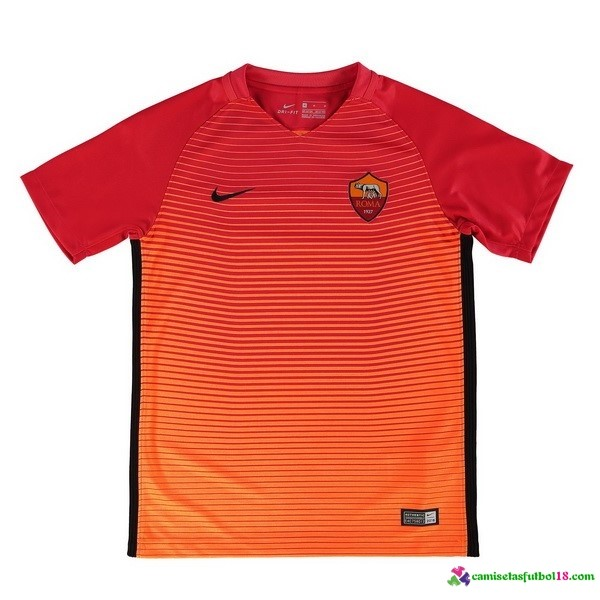 Camiseta 2ª Kit Conjunto AS Roma Niño 2016 2017
