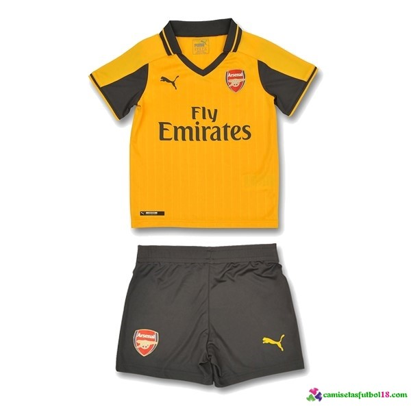 Camiseta 2ª Kit Conjunto Arsenal Niño 2016 2017