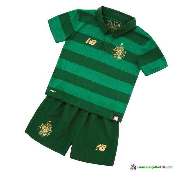 Camiseta 2ª Kit Conjunto Celtic Niño 2017 2018