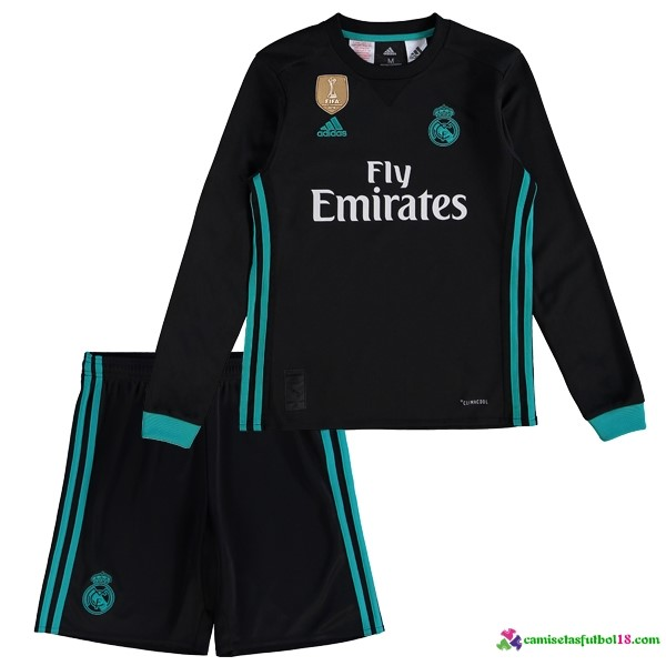 Camiseta 2ª Kit Conjunto ML Niño Real Madrid 2017 2018
