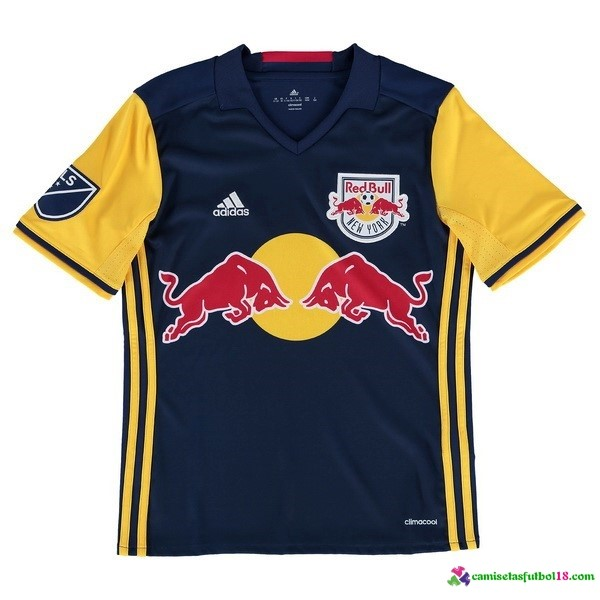 Camiseta 2ª Kit Conjunto Red Bulls Niño 2016 2017