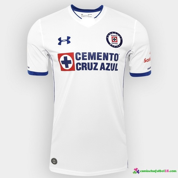 Camiseta 2ª Kit Cruz Azul 2017 2018