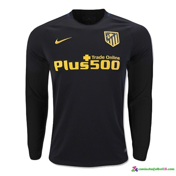 Camiseta 2ª Kit ML Atletico Madrid 2016 2017