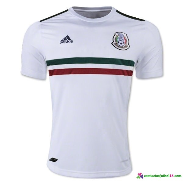 Camiseta 2ª Kit Mexico 2017