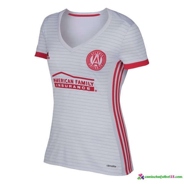 Camiseta 2ª Kit Mujer Atlanta United 2017 2018